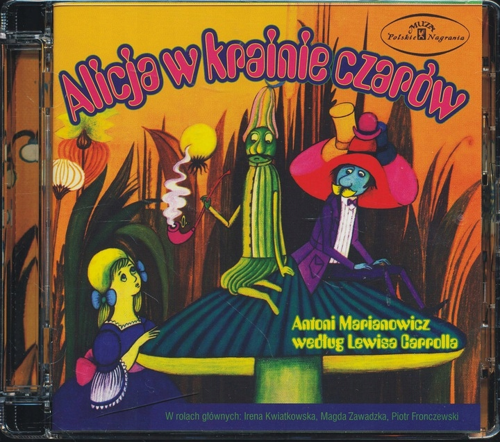 CD BAJKI Alicja w Krainie Czarów (Nagranie z 1976)