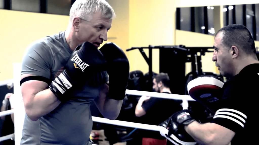 Trening bokserski z Jackiem Jaśkowiakiem