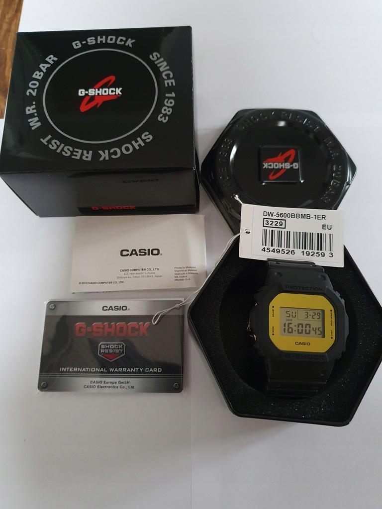 CASIO 5600 BBMB-1ER nowy na gwarancji