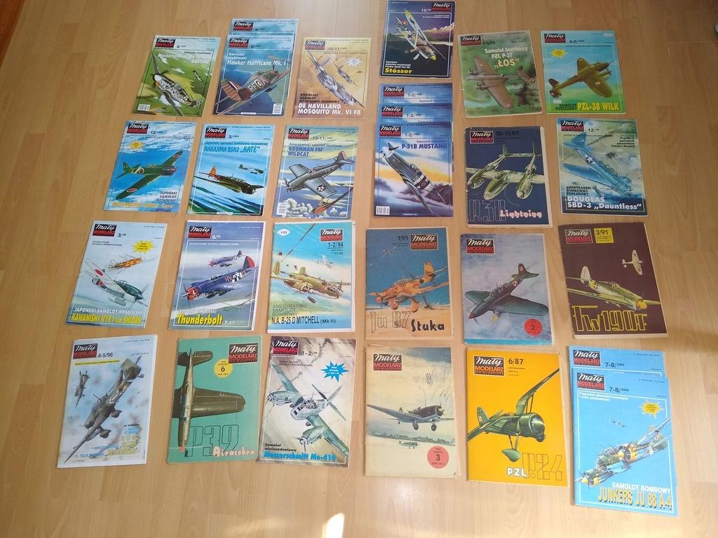 Kolekcja modeli samolotów II wojna światowa!