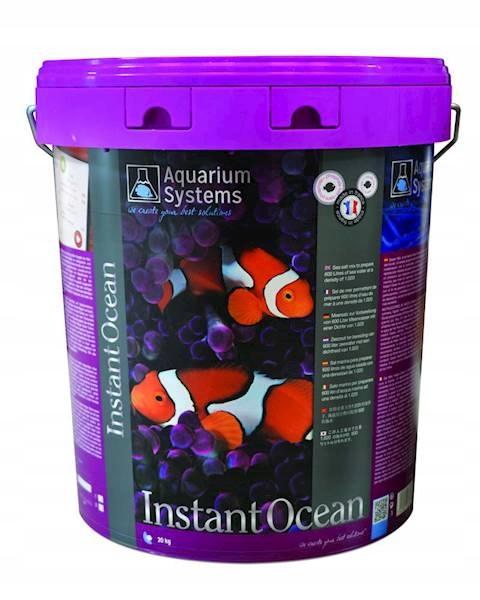 INSTANT OCEAN 600L/20kg AQUARIUM SYSTEMS SÓL