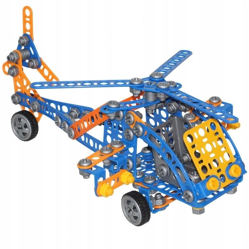 Wader Klocki Konstrukcyjne Mały Wynalazca 232 elem