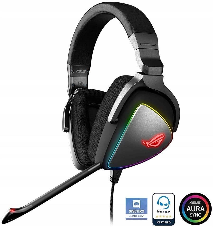 Asus ROG Delta słuchawki gamingowe RGB LED SL029