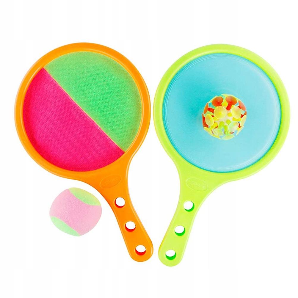 1 Zestaw Sticky Cricket Sucker Ball Gra Toy Stick
