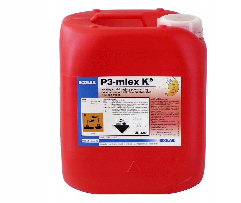ECOLAB Preparat do mycia i dezynfekcji mlex K 24kg