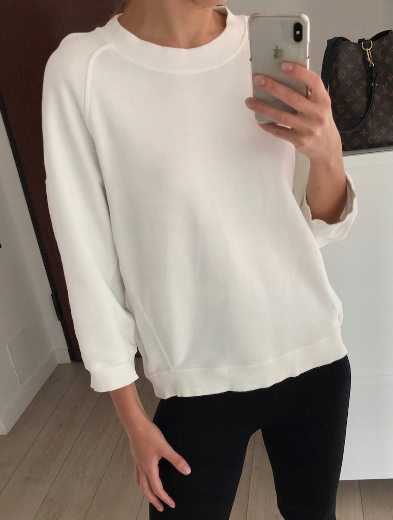 COS bluza S biała 36 bawełna