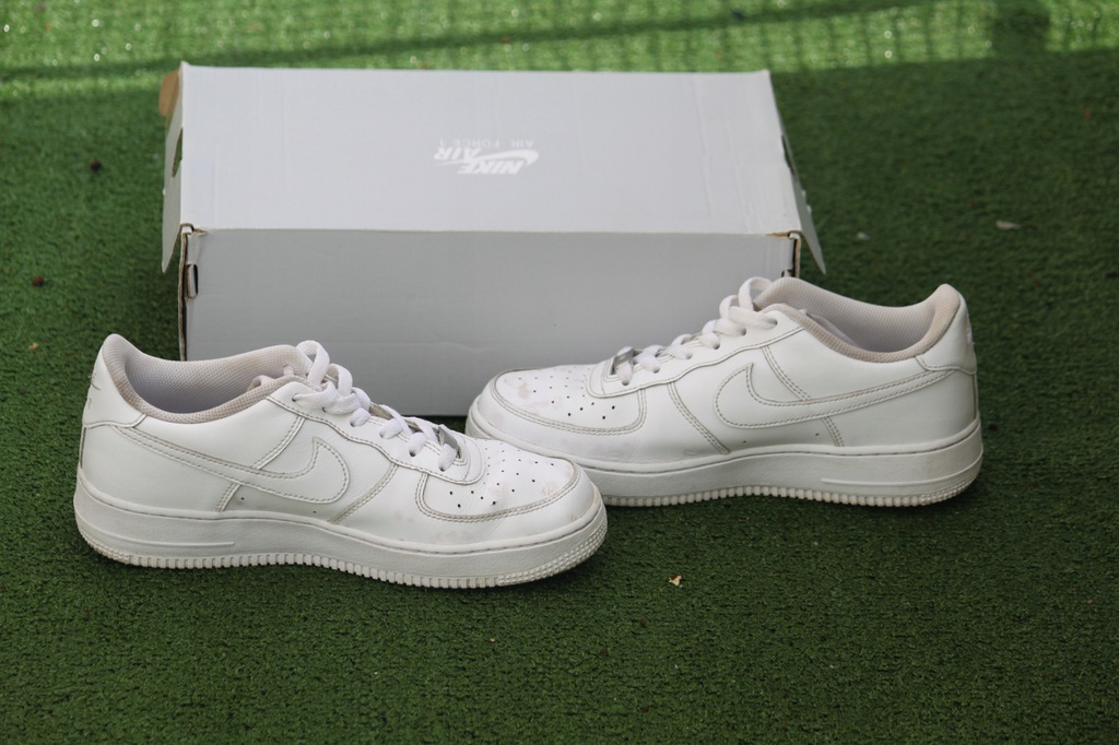 BUTY NIKE AIR FORCE LOW BIALE roz 40 7328715340