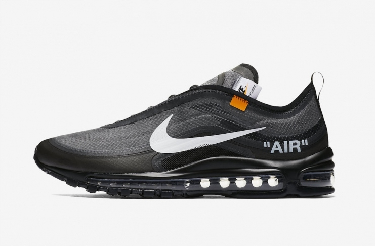 OFF WHITE x Nike Air Max 97 Black r44