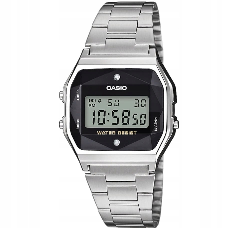 Zegarek damski Casio Diamond Limited A158WEAD-1