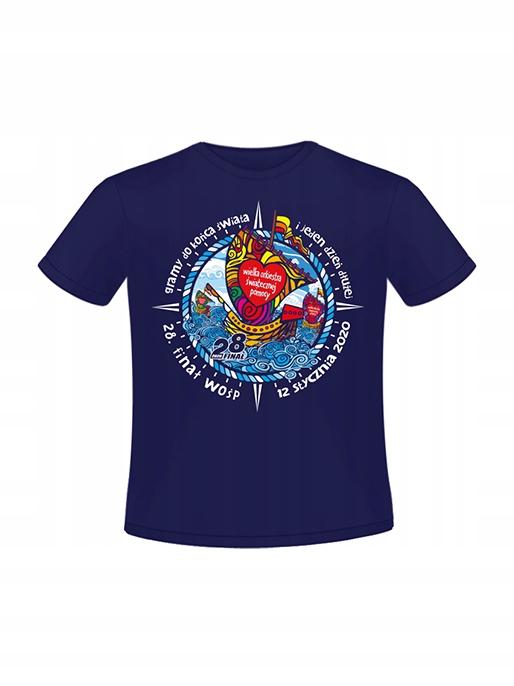 T-shirt dziecięcy 122-128 cm, 28 Finał WOŚP