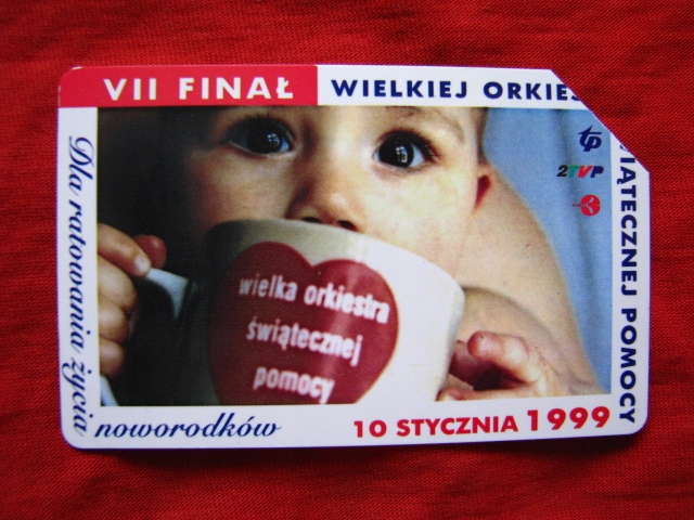 karta VII Finał WOŚP 1999