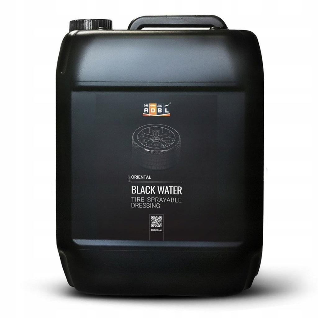ADBL Black Water - Dressing w sprayu do opon 5L