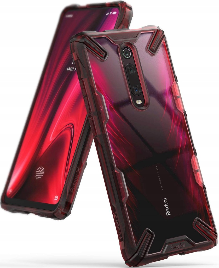 Etui Ringke Fusion-X Xiaomi Mi 9T Ruby Red