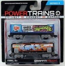 COBI POWER TRAINS DWA WAGONY GRAFFITI 48631 (P)