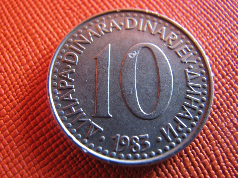 10 PARA 1983 JUGOSŁAWIA  -wośp081