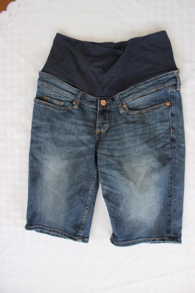 H&M spodenki ciązowe jeansy 36