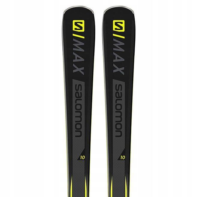 Narty Salomon SMAX 10 + wiązania 2019!! 160cm