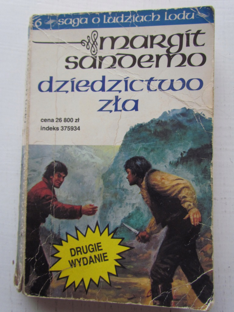 Margit Sandemo Saga O Ludziach Lodu Tom 6 7987580586 Oficjalne Archiwum Allegro