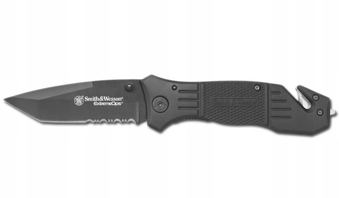 Nóż ratowniczy Smith&Wesson Extreme Ops +klips