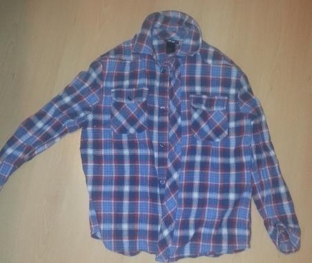 koszula H&M r.128  używana stan bdb