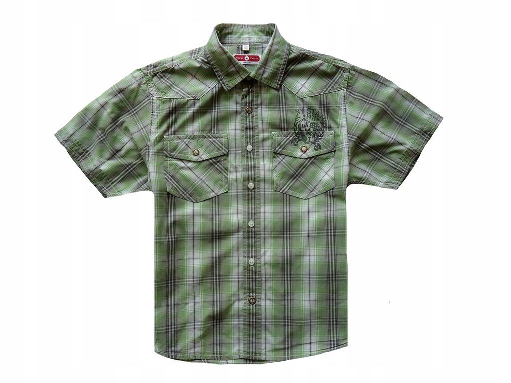 C&A koszula w kratę dla chłopca 134/140 cm