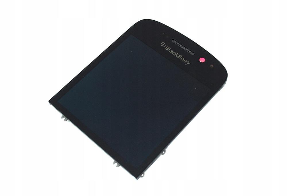 WYŚWIETLACZ +DOTYK EKRAN LCD BLACKBERRY Q10 CZARNY