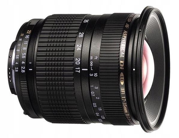 TAMRON SP AF 17-35mm f/2.8-4 do CANON 1Ds 5D 6D FV