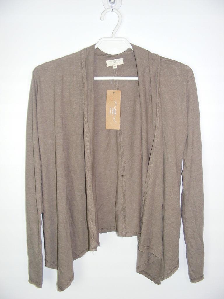 NEW LOOK cienki sweter narzutka R 38