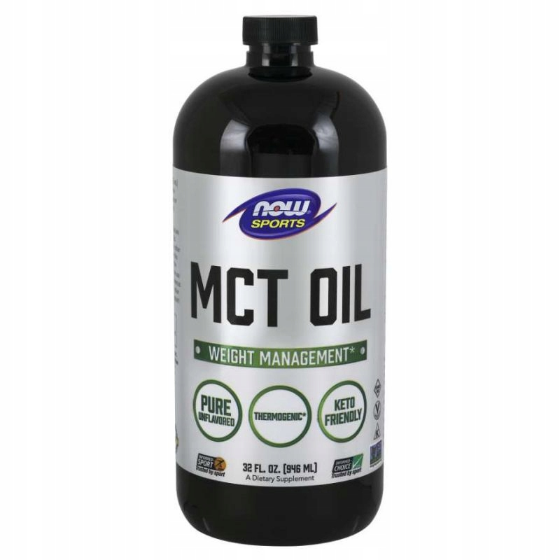 NOW FOODS MCT Oil 100% Pure - 946 ml