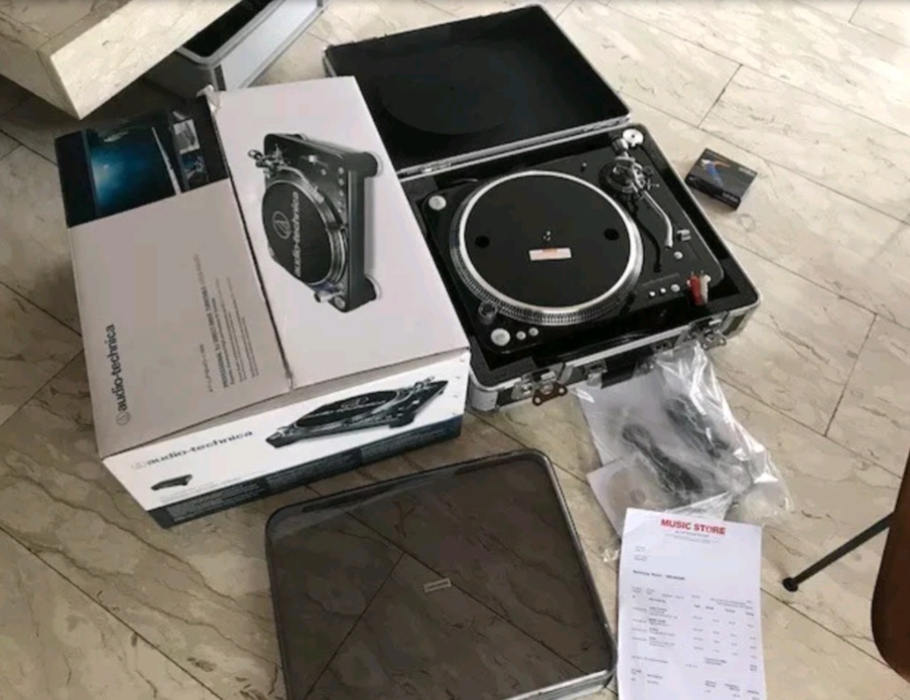 AudioTechnica AT-LP1240USB gramofon dowód zakupu