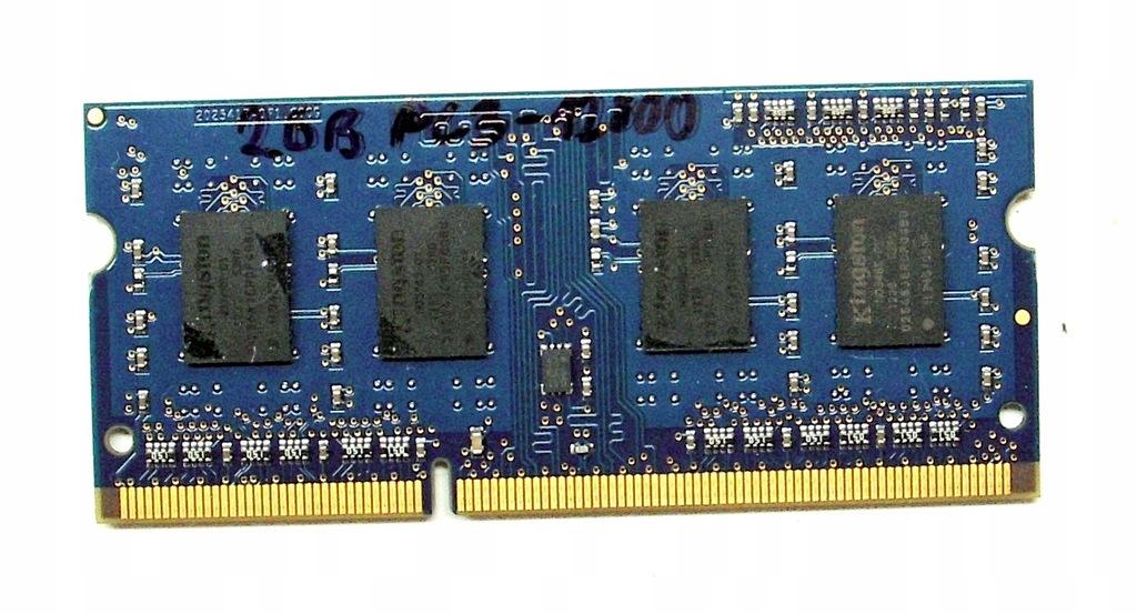 PAMIĘĆ 2GB DDR3 SODIMM PC3-12800S 1600MHz LAPTOP