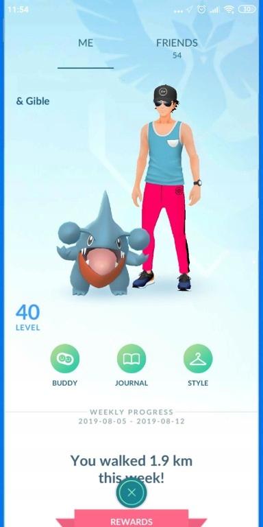 Konto Pokemon Go 40 Lvl 8385750307 Oficjalne Archiwum Allegro