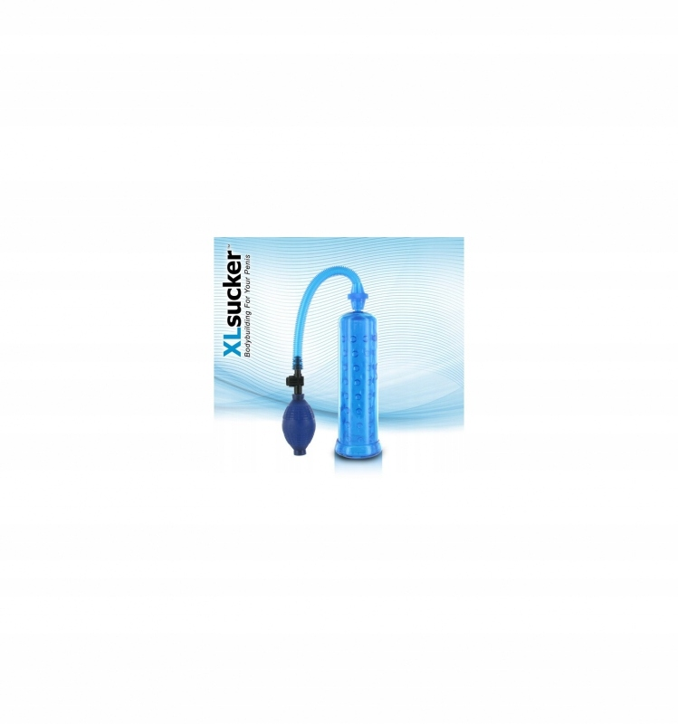 Pompka do penisa XL(niebieski)