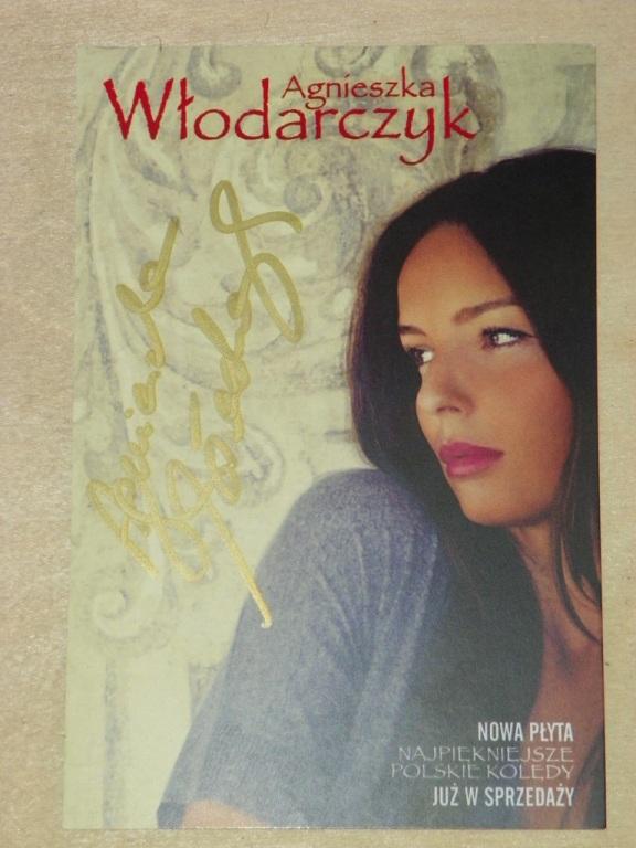 Zdjecie z Autografem Agnieszki Włodarczyk