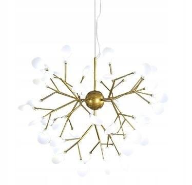 Lampa wisząca FLORA 85 złota - LED, metal