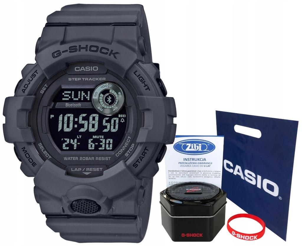 Zegarek dla chłopca Casio G-SHOCK GBD-800UC-8ER