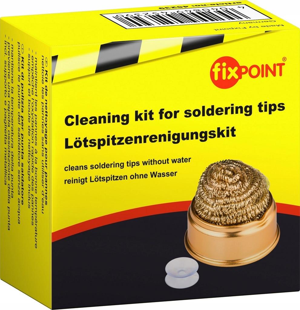FIXPOINT Zestaw czyszczący elementy lutowane 3w1