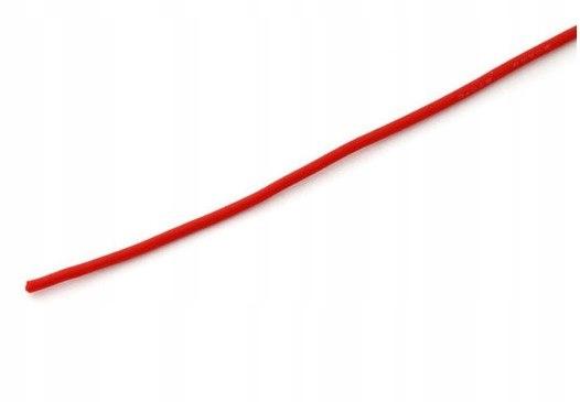 Przewód silikonowy 1,0 mm2 (17AWG) (czerwony) 1m