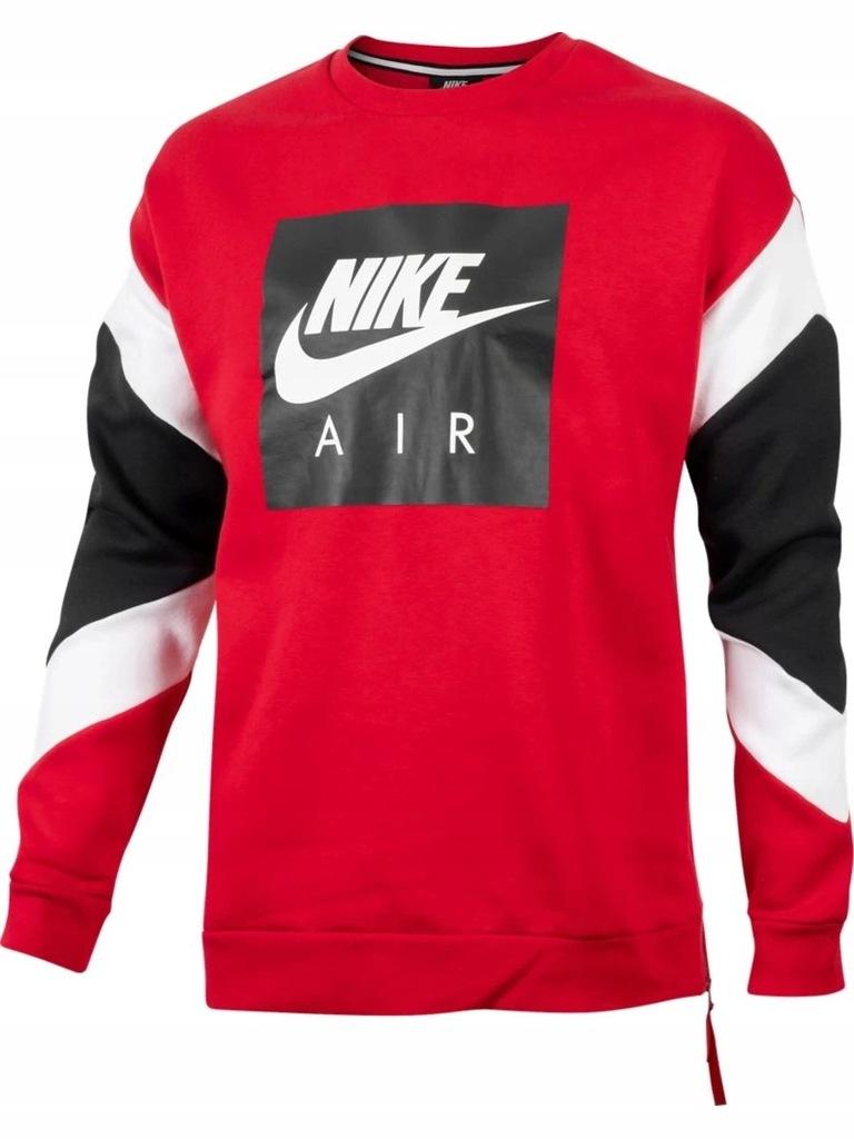 Czerwona bluza nike air