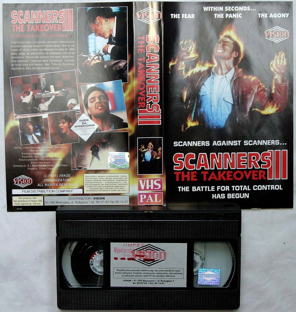 Scanners III - VHS