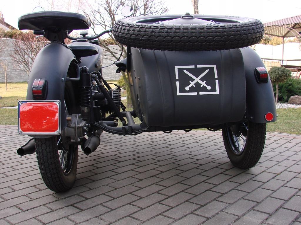 Kmz K 750 M Motocykl Z Wozkiem Bocznym 9277808791 Oficjalne Archiwum Allegro
