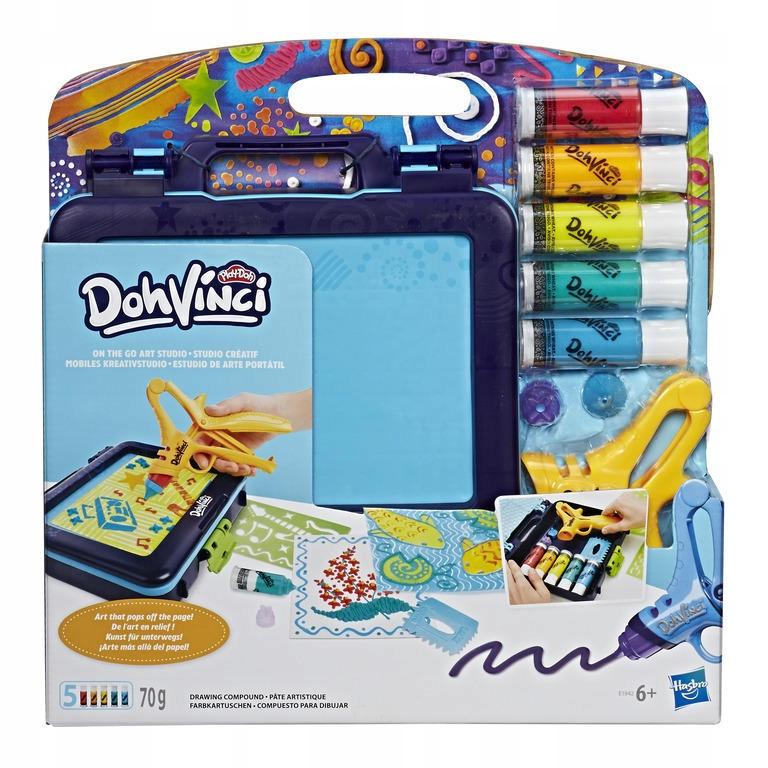 Hasbro Play Doh Vinci Duzy Zestaw Przenosny E1942 7431879412 Oficjalne Archiwum Allegro