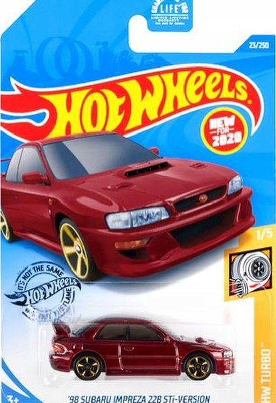 HOT WHEELS 5785 '98 SUBARU IMPREZA 22B STi-VERSION