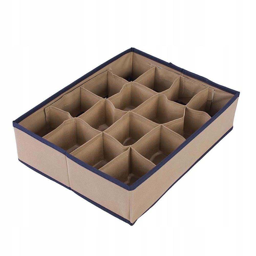 Organizer do szuflady beżowy 35 x 27 x 9 KAM