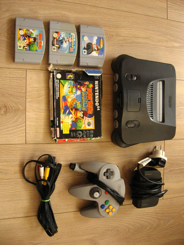 Nintendo 64 - zestaw