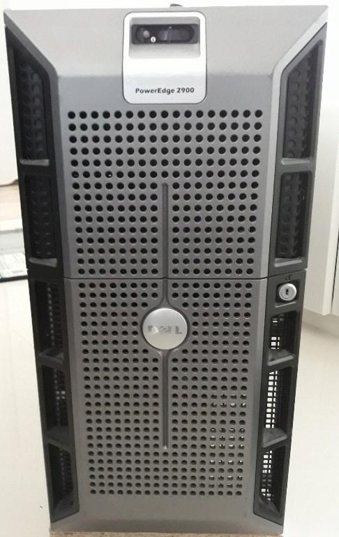 DELL PE 2900 II 2xQUAD-CORE E5335, RAM 64GB, VXA-2