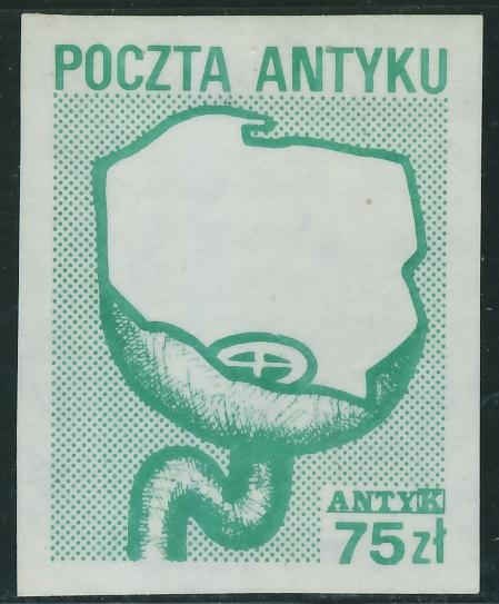 Poczta Antyku 75 zł. - Antyk / 2