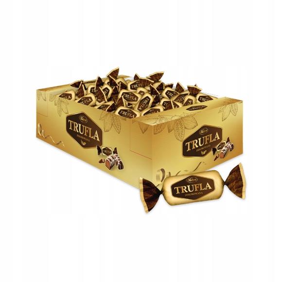 Vobro Cukierki Trufla Dekorowana w czekoladzie 3kg
