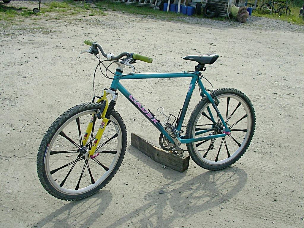 Super Rower CADEX ze Specjalnymi Kołami / Szprychy