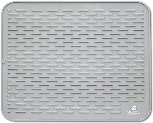 E625 SYLIKONOWA MATA DO SUSZENIA NACZYŃ 45X40 CM